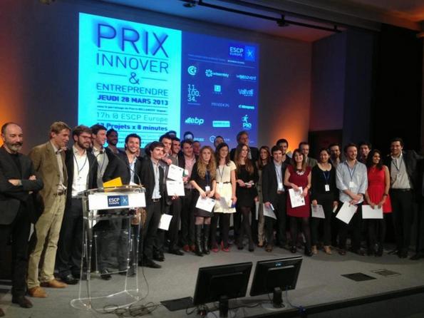 Sowefund partenaire du Prix Innover et Entreprendre 2014 à l'ESCP Europe