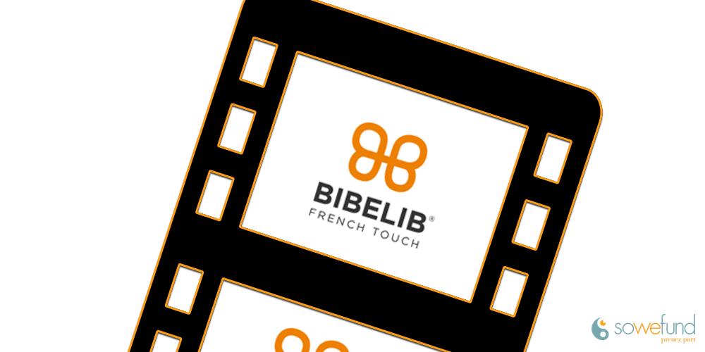 Vidéo de présentation de la start-up BibeliB