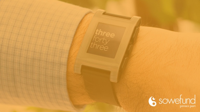 Le succès Pebble Watch ou la frénésie du crowdfunding