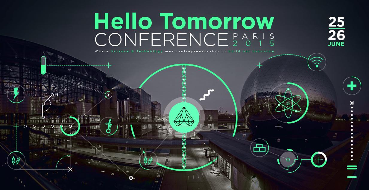 Sowefund partenaire de la conférence Hello Tomorrow 2015