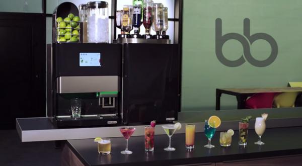 la machine à cocktails de blendbow