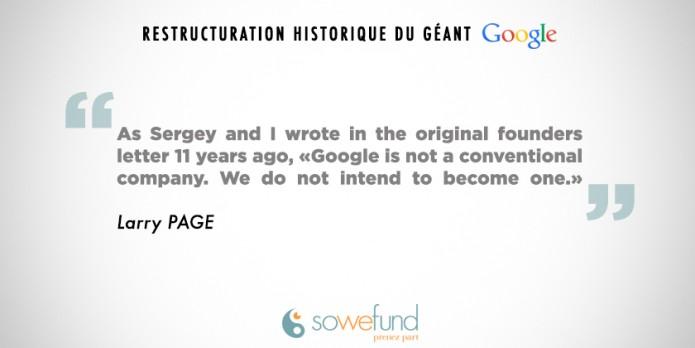 Larry Page à propos de Google