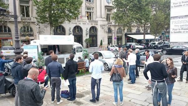 Fundtruck Place Saint-Augustin