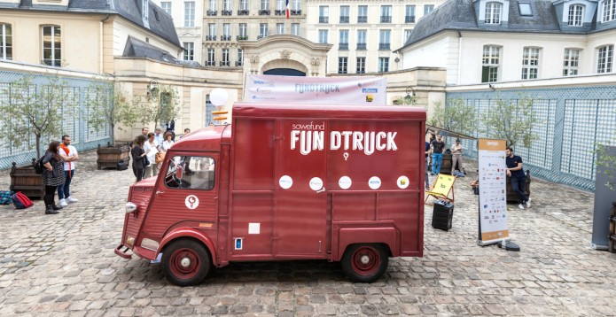 Le Fundtruck