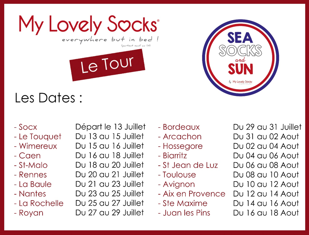 Dates tour MLS