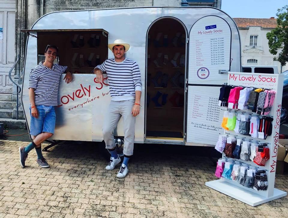 My Lovely Socks lance son Tour de France!