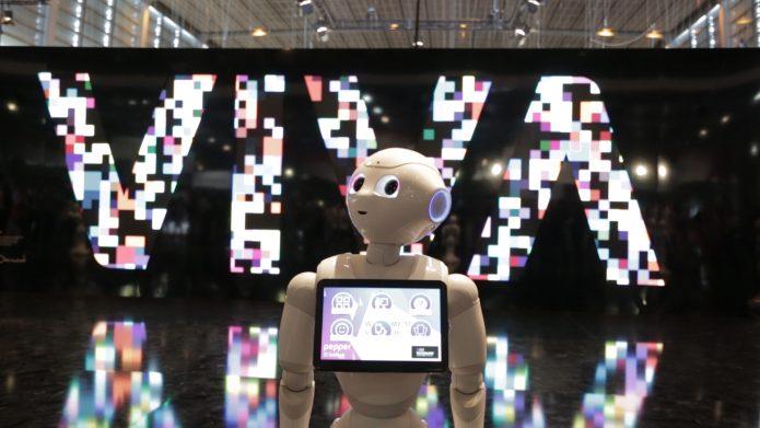 viva technology 2017 robot