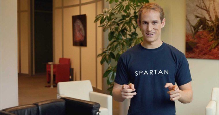 QUI EST ARTHUR MENARD, CO-FONDATEUR ET CEO DE SPARTAN ?