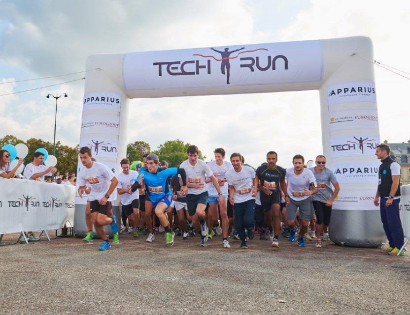 Le Fundtruck à la TechRun