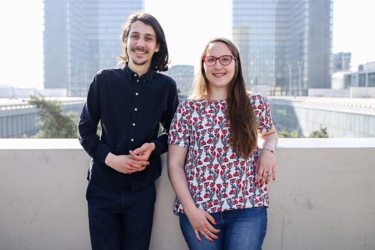 Portrait d'entrepreneurs : Julie Dautel & Cédric Tomissi, co-fondateurs de EONEF