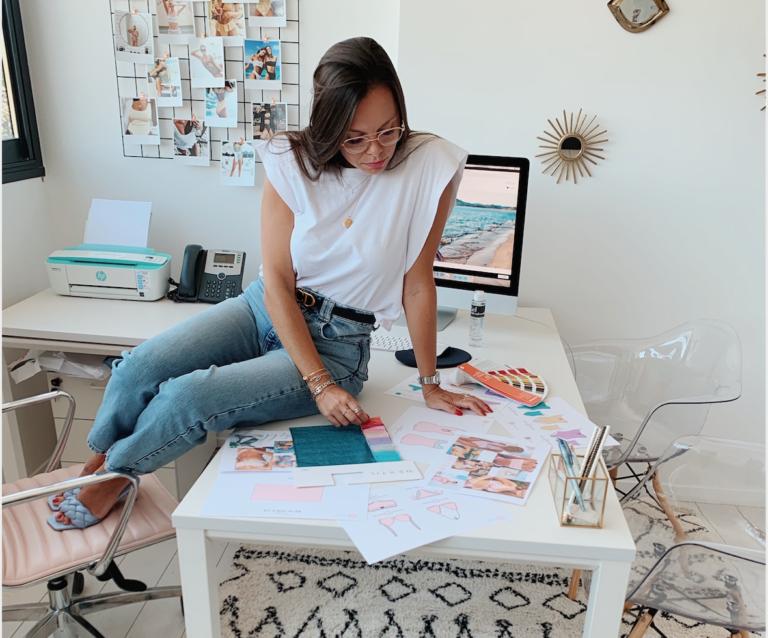 Portrait d'entrepreneur : Audrey Lieutaud, fondatrice de Monpetitbikini